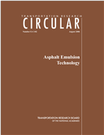 Cover of Overview of Asphalt Emulsions